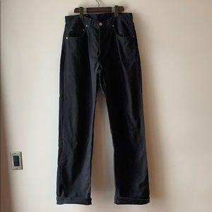 Levi's 528's Navy Jeans